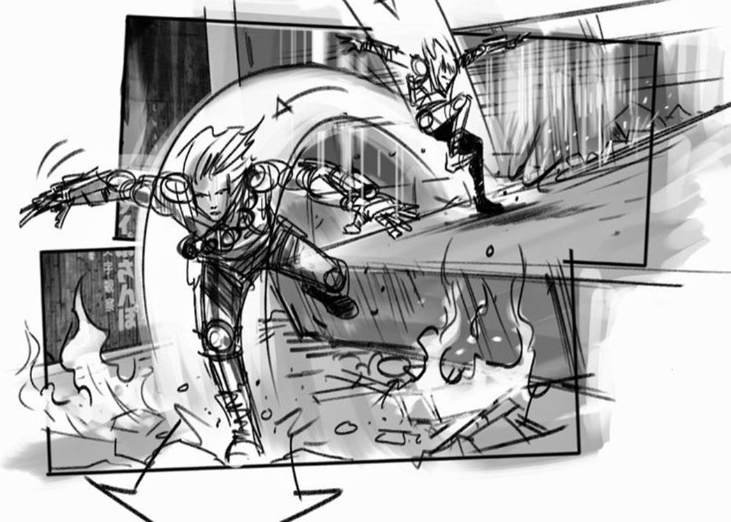 Pre-production Documents - Storyboard for Edge of Tomorrow