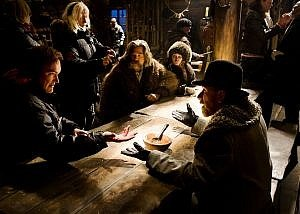 Production Crew and Cast - The Hateful Eight (Behind The Scenes)