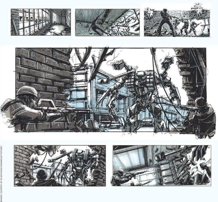 Storyboarding - Transformers