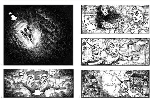 Storyboarding - Harry Potter